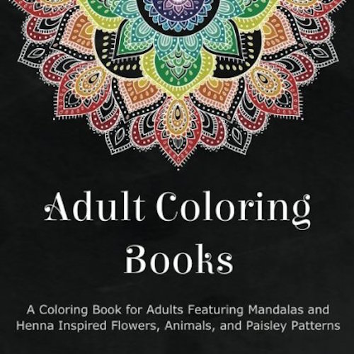 Adult Coloring Books 1